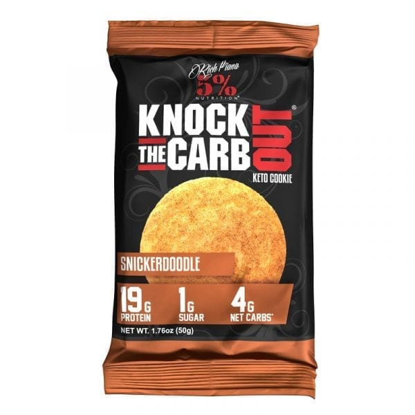 5% Nutrition Knock the Carb Out Keto Cookie Bar