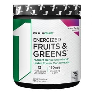 rule 1 energized fruits and greens