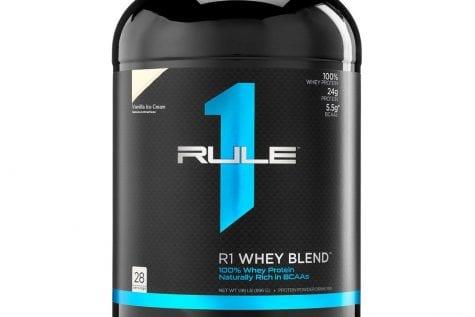 Rule 1 R1 Whey Blend 2 lbs Vanilla Ice Cream