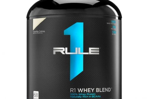 Rule 1 R1 Whey Blend 5 lbs Vanilla Ice Cream