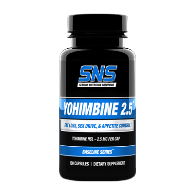 sns yohimbine 2.5
