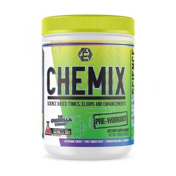 the guerrilla chemist chemix pre workout