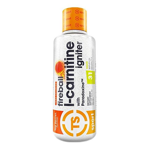 top secret nutrition fireball l-carnitine