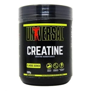 universal creatine powder 300 grams