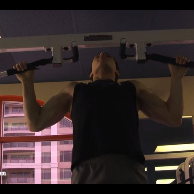 Wide Grip Pull-Ups End