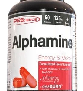 PES alphamine caps