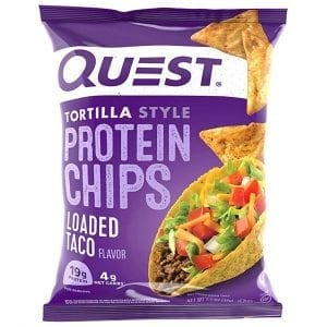 Quest Nutrition Protein Chips Loaded Taco