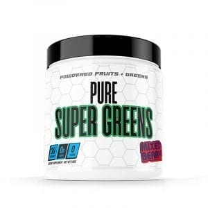 pure cut supplements pure super greens