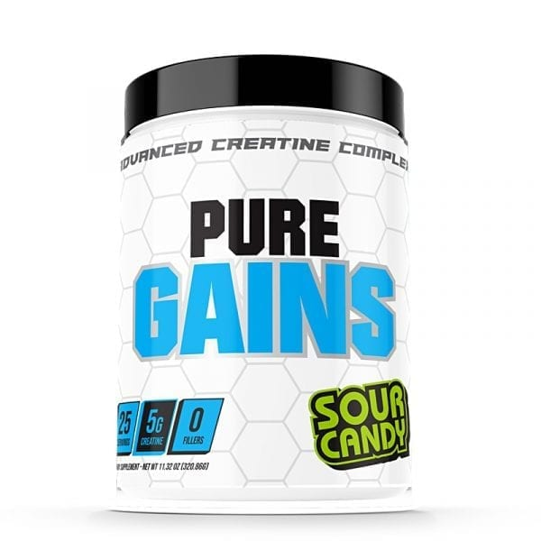 pure gains sour candy