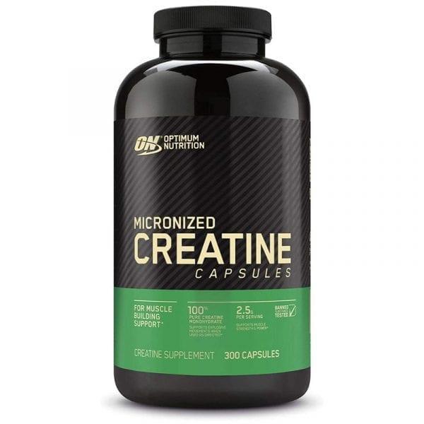 optimum nutrition creatine capsules