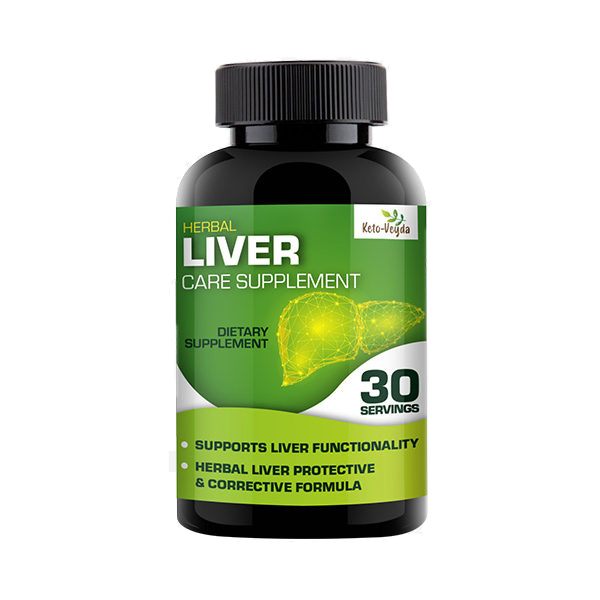 keto veyda liver care supplement