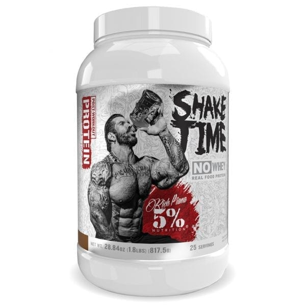 5 Percent Nutrition Shake Time