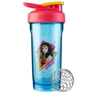 Blender Bottle Wonder Woman 84 Blue