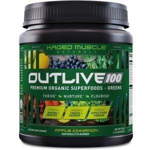 Kaged Muscle Outlive 100 Apple Cinnamon