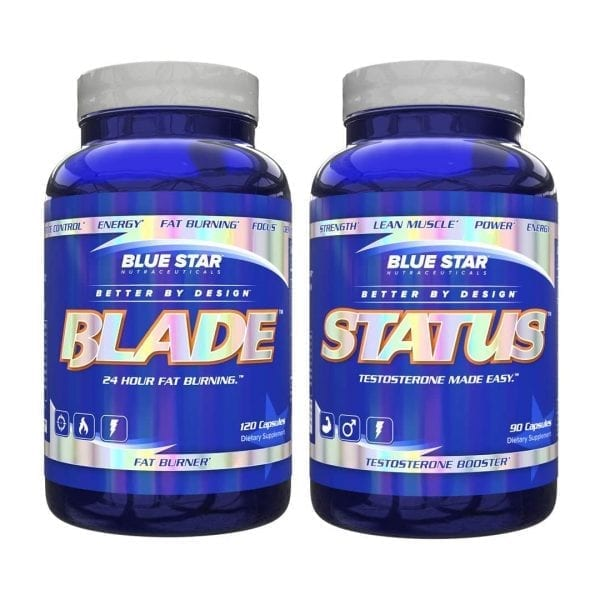 Blue Star Nutraceuticals Blade and Status Combo