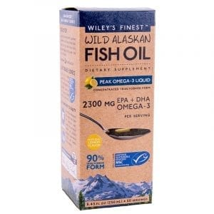 Wiley's Finest Peak Omega 3 Liquid