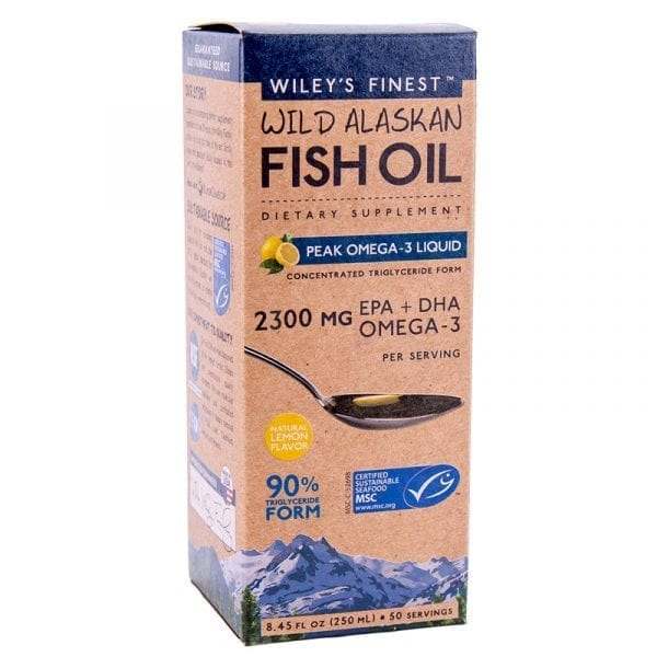 Wiley's Finest Peak Omega 3 Liquid