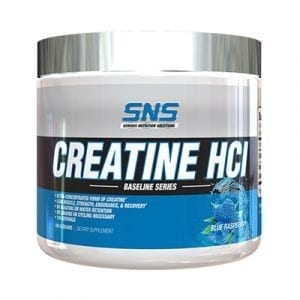 SNS Creatine HCL Blue Rapsberry