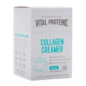 Vital Proteins Collagen Creamer 14 Packets Coconut