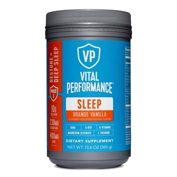Vital Proteins Sleep Orange Vanilla