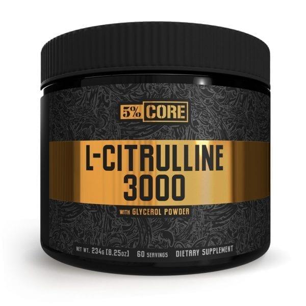 5 Percent Nutrition L Citrulline 3000