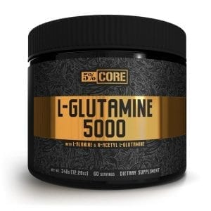 5 Percent Nutrition L-Glutamine 5000