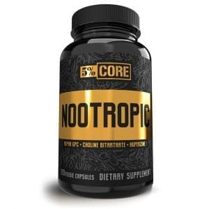 5 Percent Nutrition Core Nootropic