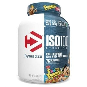 Dymatize Iso 100 5lbs Fruity Pebbles