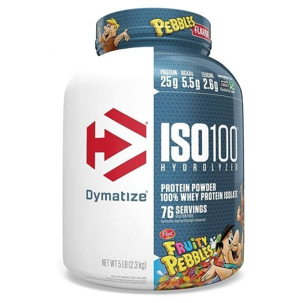 Dymatize Iso 100 5lbs Fruity Pebbles