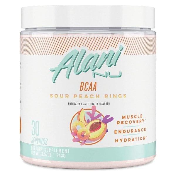 Alani Nu BCAA Sour Peach Rings