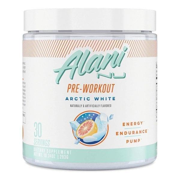 Alani Nu Pre Workout Arctic White
