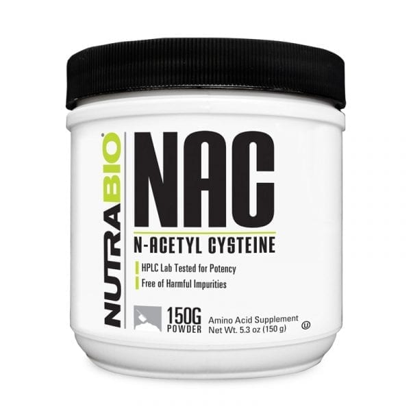 NutraBio NAC N-Acetyl Cysteine