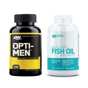 Optimum Nutrition Fish Oil Opti-Men Stack